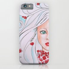 Flowers Girl in Color Slim Case iPhone 6s