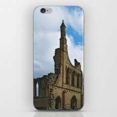 Byland Abbey 5 iPhone & iPod Skin