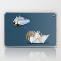 I Want To Be A Captain Laptop & iPad Skin