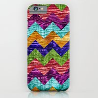 iPhone & iPod Case featuring Natural Chevron Flow by Beth - Paper Angels Photography