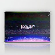 Laptop & iPad Skin featuring System Error by Text Guy