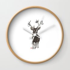 Oh my deer Wall Clock