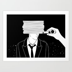 Forget you Art Print