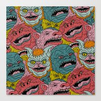 GhoulieBall Canvas Print