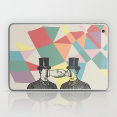 Join Hands Laptop & iPad Skin