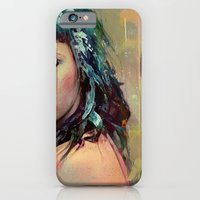 iPhone & iPod Case featuring Tell me that he left for one other than I, but not because of me by Ganech joe