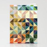Geometric United States Stationery Cards