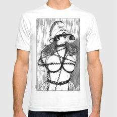 asc 648 - Les liens occultes (Tied up by a long distance relationship) Mens Fitted Tee White SMALL