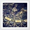 Coiled Viper Art Print