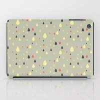 retro raindrops iPad Case