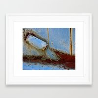 Cannon Shot Framed Art Print