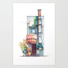 Tokyo storefront #09 Art Print