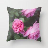 French Garden (1) Throw Pillow