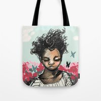 The Most Beautiful Flowe… Tote Bag