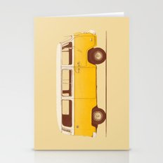 Yellow Van Stationery Cards