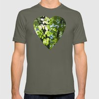 Light in the leaves Mens Fitted Tee Lieutenant SMALL