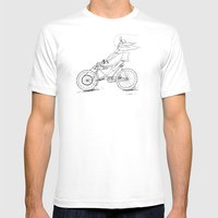 Cruiz'n Right Alomg Mens Fitted Tee White SMALL