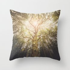 I Found A Tree In The Fo… Throw Pillow