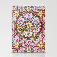 In The Garden Of Love Ma… Stationery Cards