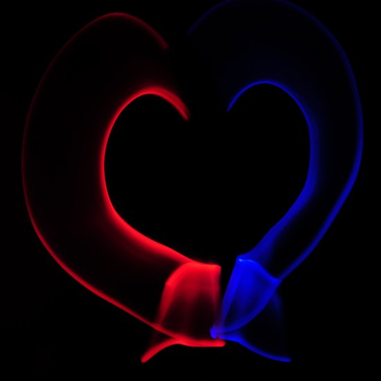 Heart of Light Art Print