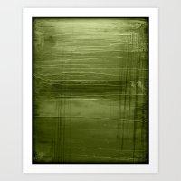 Sage Green Art Print