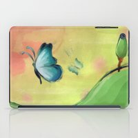 The Journey Of A Butterf… iPad Case