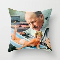 The Slippery Slide Throw Pillow