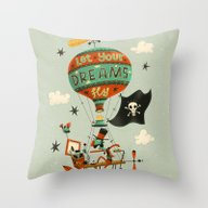 Make Your Dreams Fly Throw Pillow