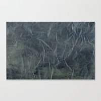 Steel Blue Paper Texture Canvas Print