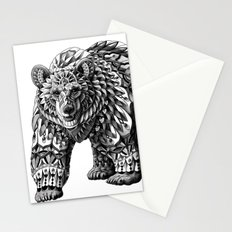 Ornate Bear Stationery Cards