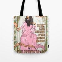 Bearded lady Tote Bag
