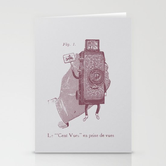 Cent Vues Stationery Card