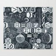 Math Class Canvas Print