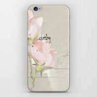 soft magnolia iPhone & iPod Skin