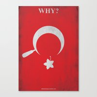 Why? Canvas Print