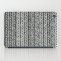 Grey Knit feeling iPad Case