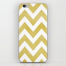 LINEN CHEVRON iPhone & iPod Skin