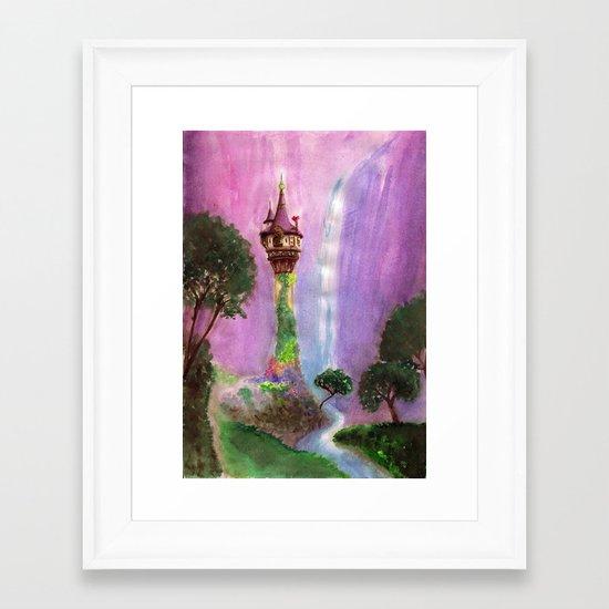 The Mystical Tower Framed Art Print