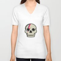 Skully Sane Unisex V-Neck