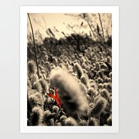Stand Out in A Crowd Art Print