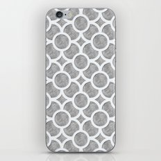 Grey Geometric iPhone & iPod Skin