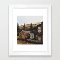 St. Elmo Framed Art Print
