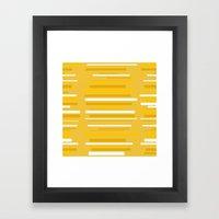 GOLD4 Framed Art Print