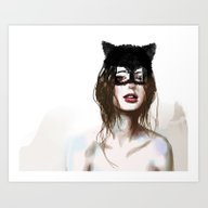 Art Print featuring Superheroes SF by Dnzsea