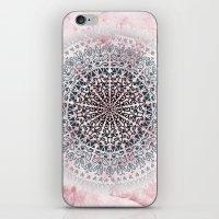 ICELAND MANDALA IN PINK iPhone & iPod Skin