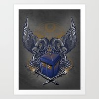 Timelord and Proud Art Print