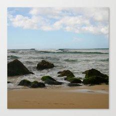 Oahu: Some Rocks Canvas Print