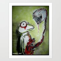 Muppet Parasite Art Print