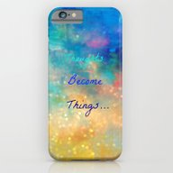 iPhone & iPod Case featuring Thoughts Become Things by Haroulita