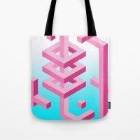Isometric Adventure Tote Bag